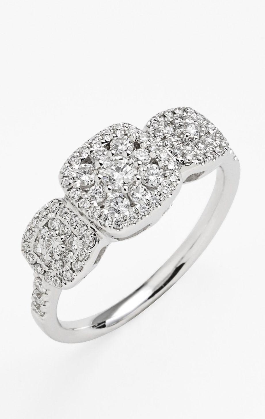 Vintage diamond engagement ring stunning jewelry pinterest