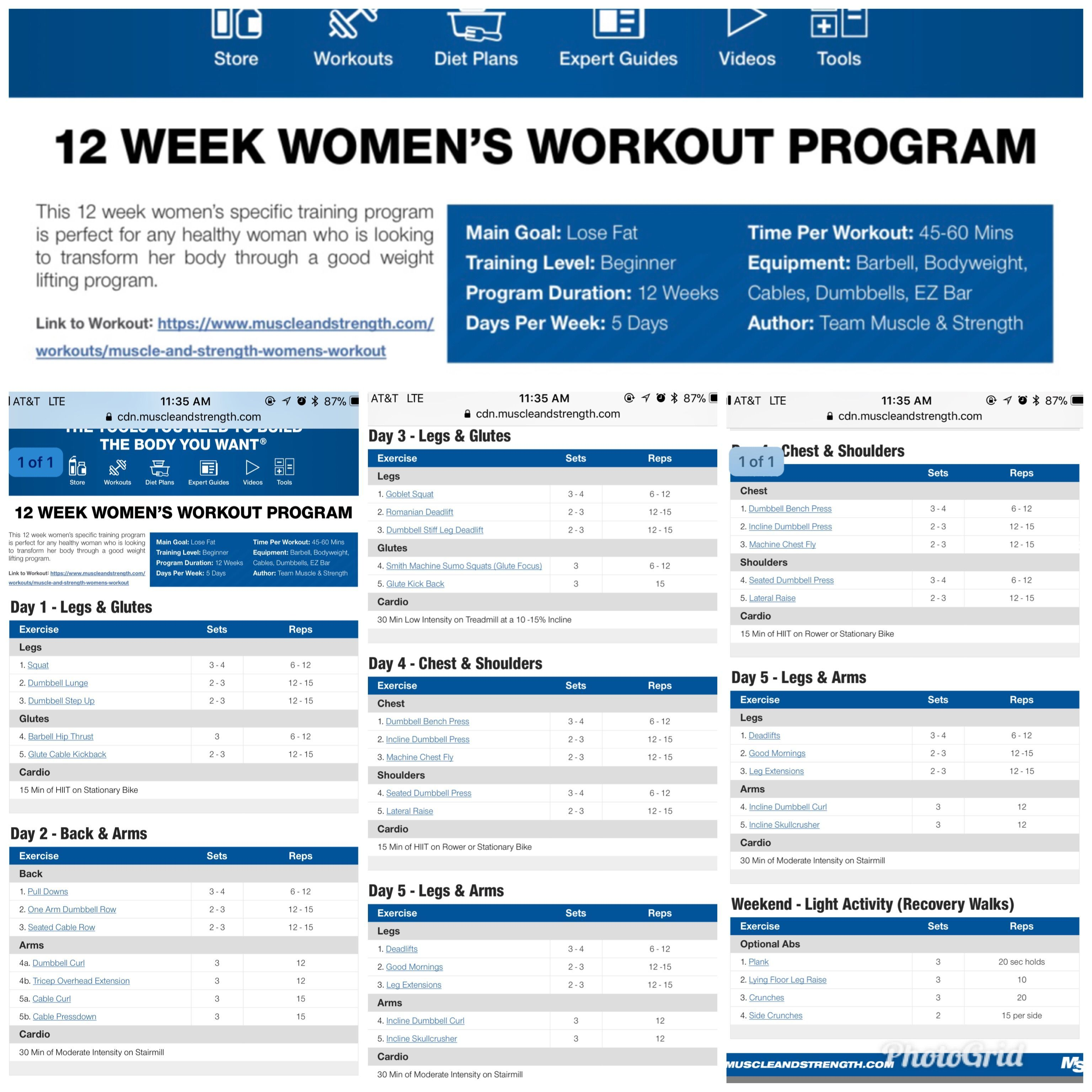 diet for weight training plan