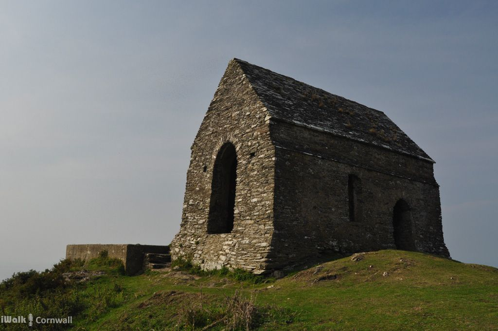 Medieval chapel on Rame Head