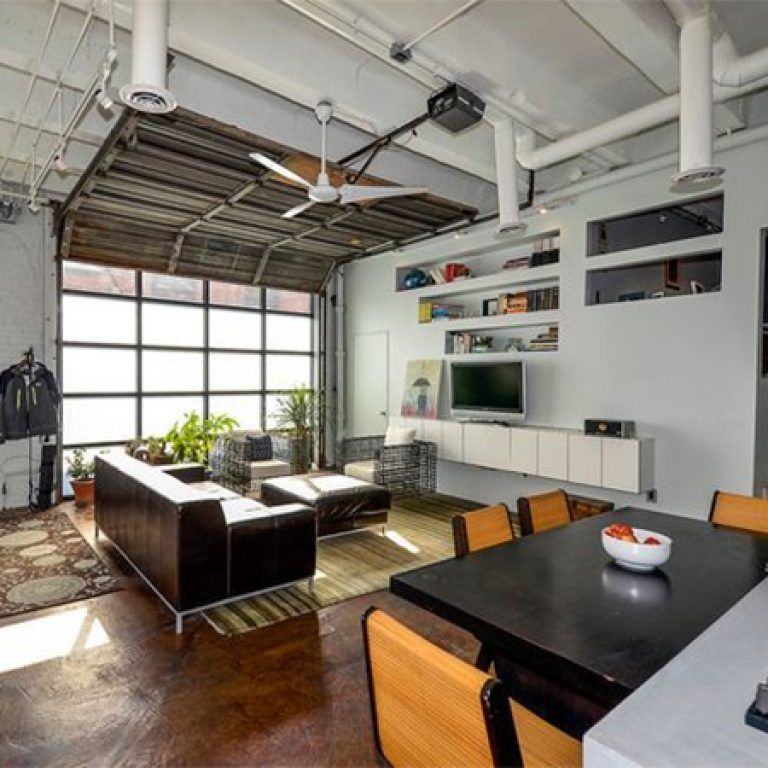 turning a garage into living space home dzine home improvement ideas for a garage conversion. Black Bedroom Furniture Sets. Home Design Ideas