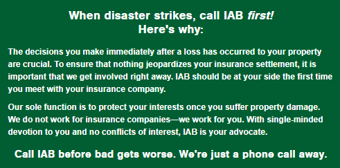 If You Have Questions Regarding A Claim Or Iab Services