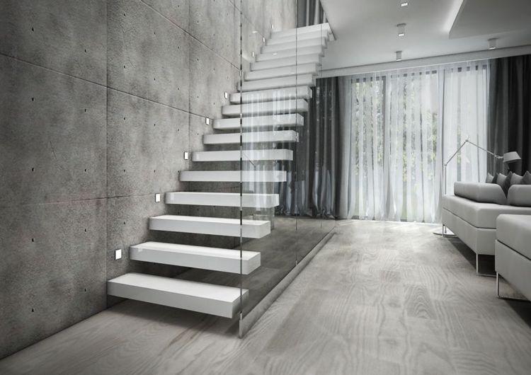Wie kann man den Platz unter offener Treppe nutzen #interiors ...