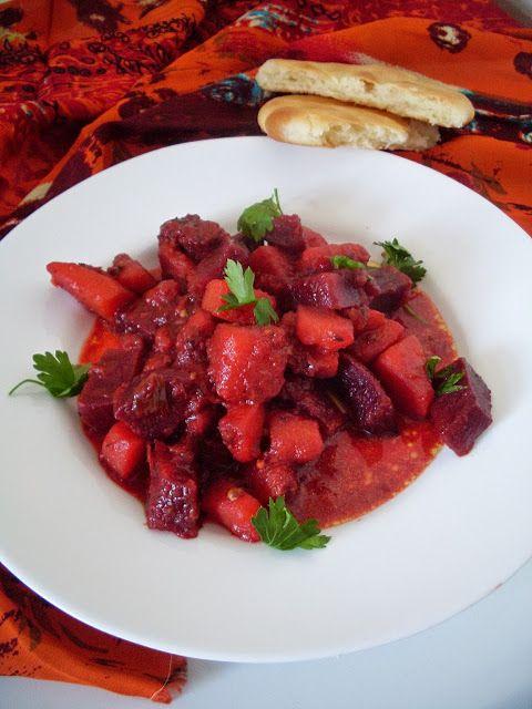 Beetroot curry - coolinarija