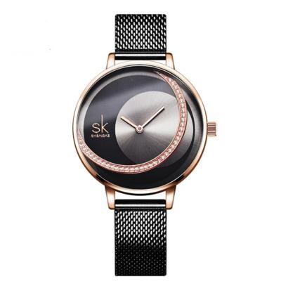 Fashion Luxury Brand Women Quartz Watch Creative Thin Ladies Wrist Watches