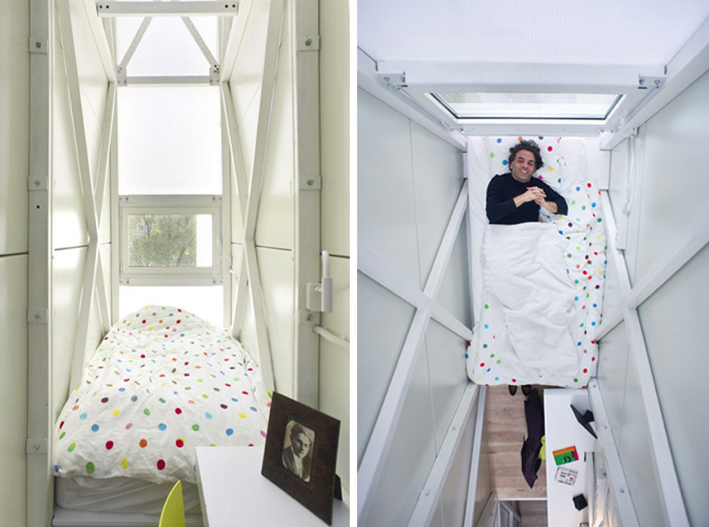 Keret House The World S Thinnest Home Narrow House House Home