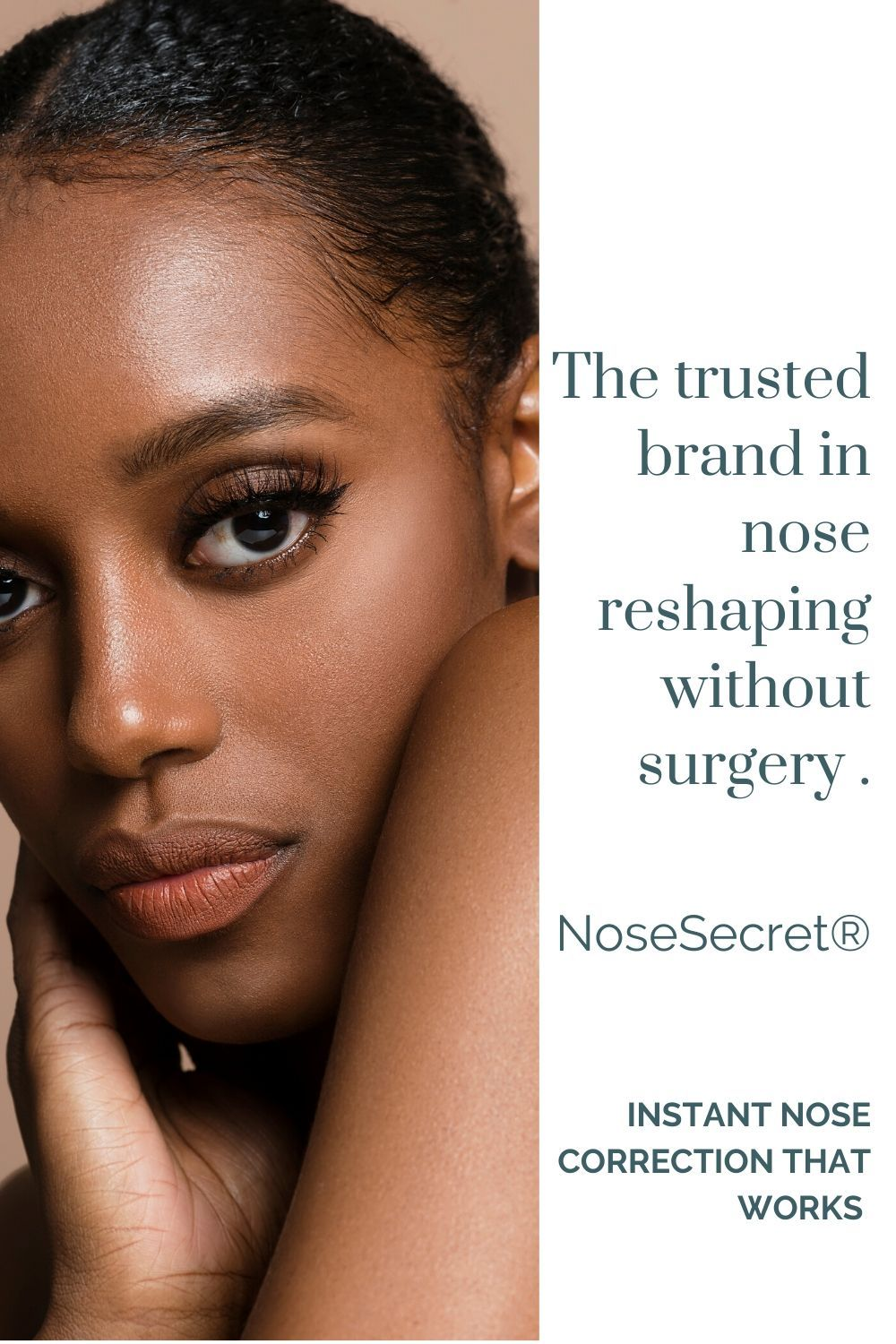 If you think surgery is the only way to reshape your nose