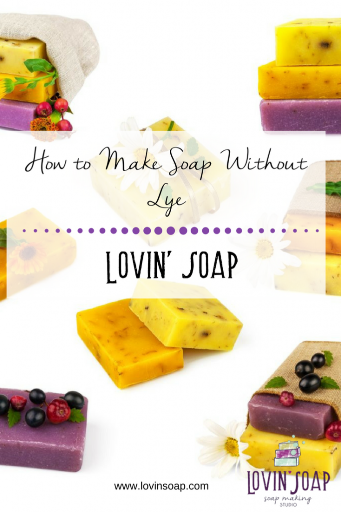 How to Make Soap Without Lye Homemade soap recipes, Soap