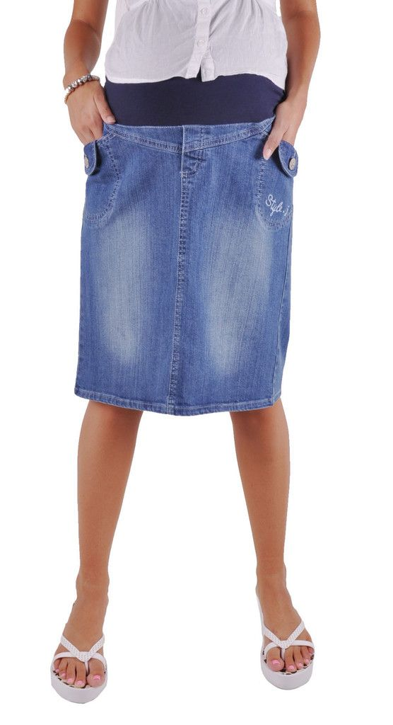 33732f21e3 Cute Maternity Jean Skirt # MT-0366 | Style J Skirts | Jean skirt ...