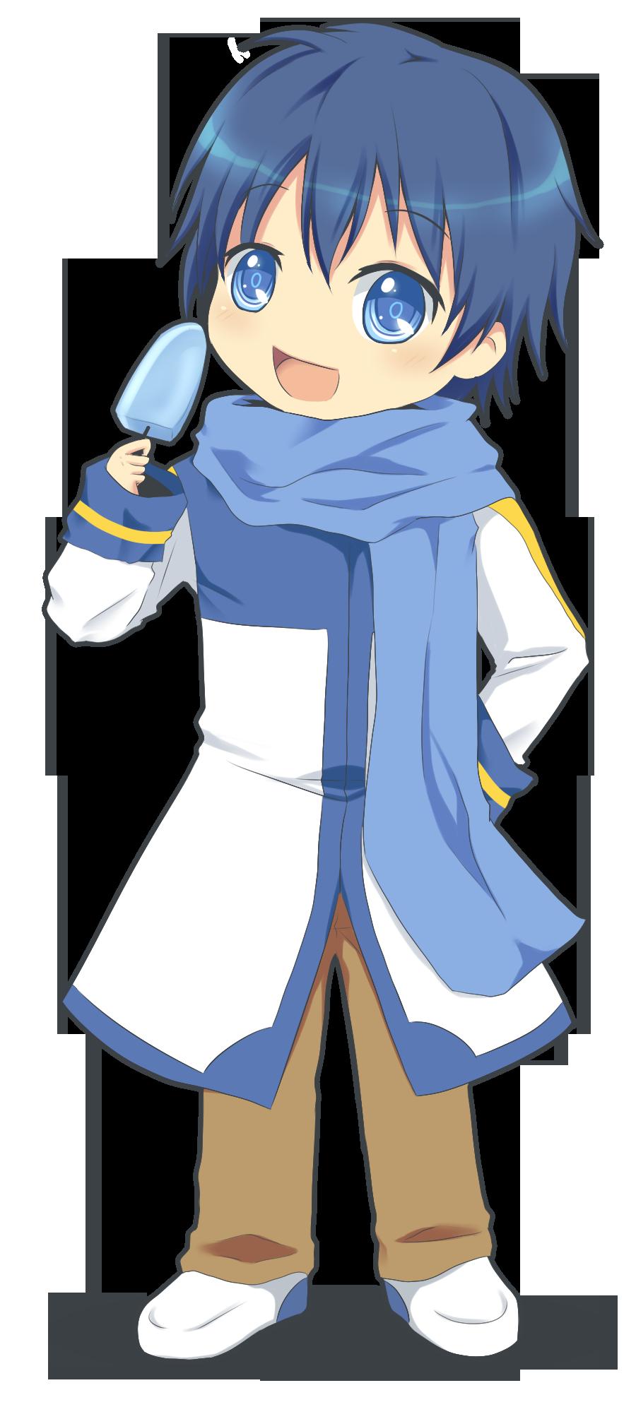 Kaito chibi | Vocaloids | Pinterest | Kaito and Chibi