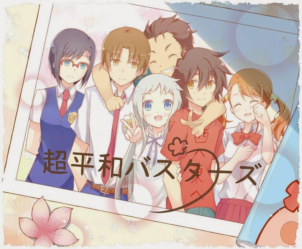 grupo de amigos anime