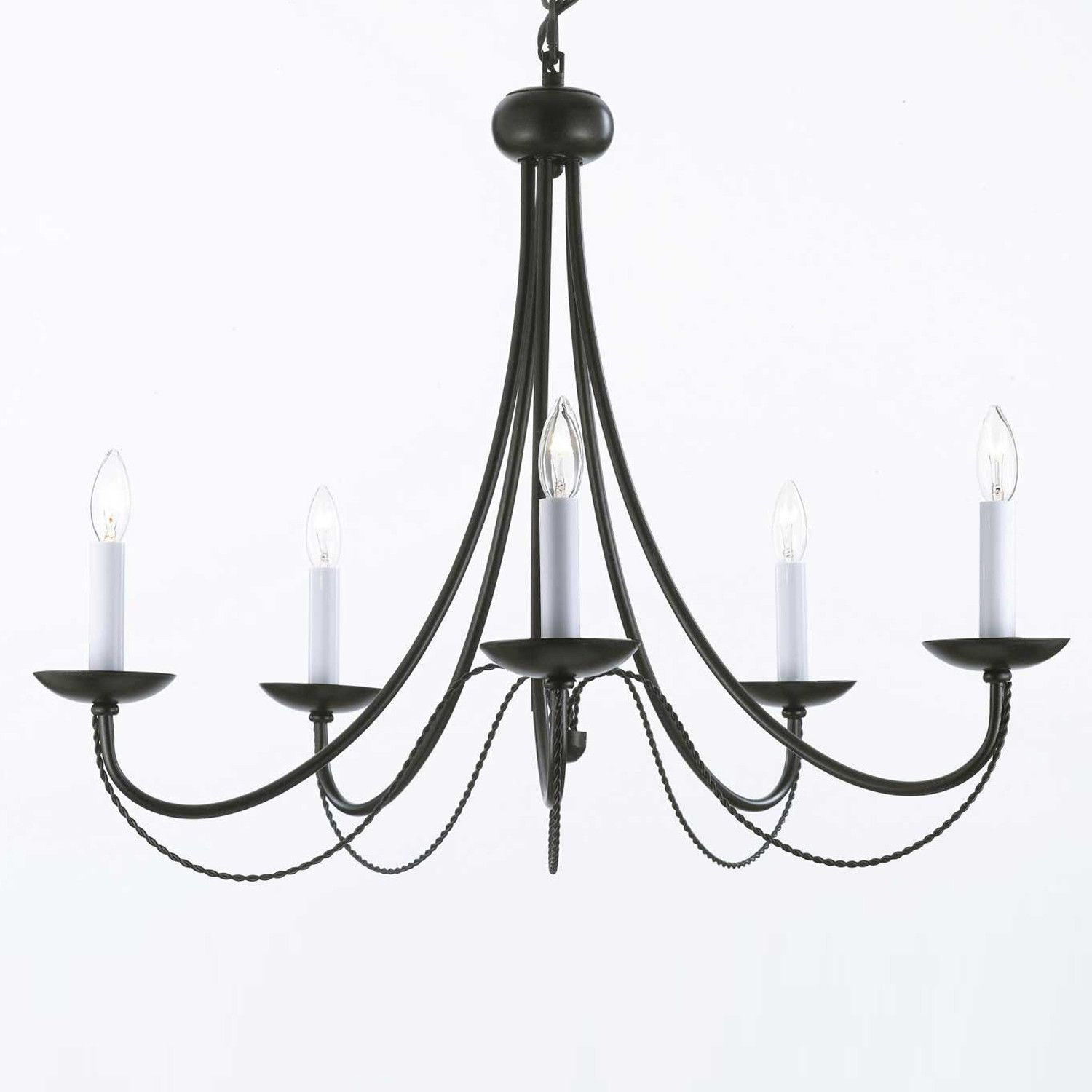 Harrison Lane Versailles 5 Light Candle Chandelier