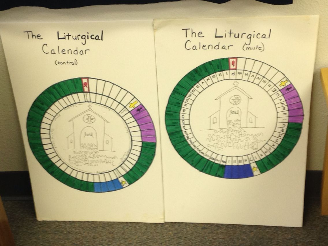 Liturgical Calendar Charts We Are Episcopal So Advent