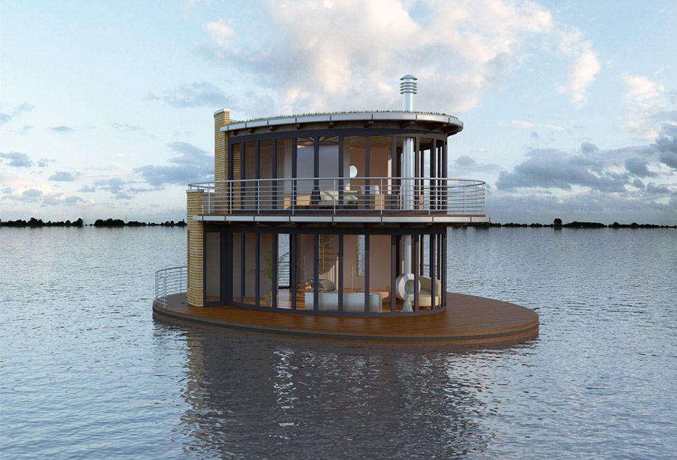 Floating House By Tchibo Hausboot Kaufen Hausboot Schwimmende Architektur