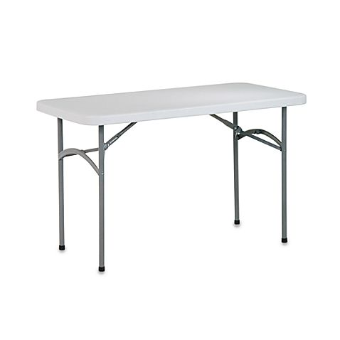 Resin Folding Multi Purpose 4 Foot Table Folding Table Osp Home Furnishings Table