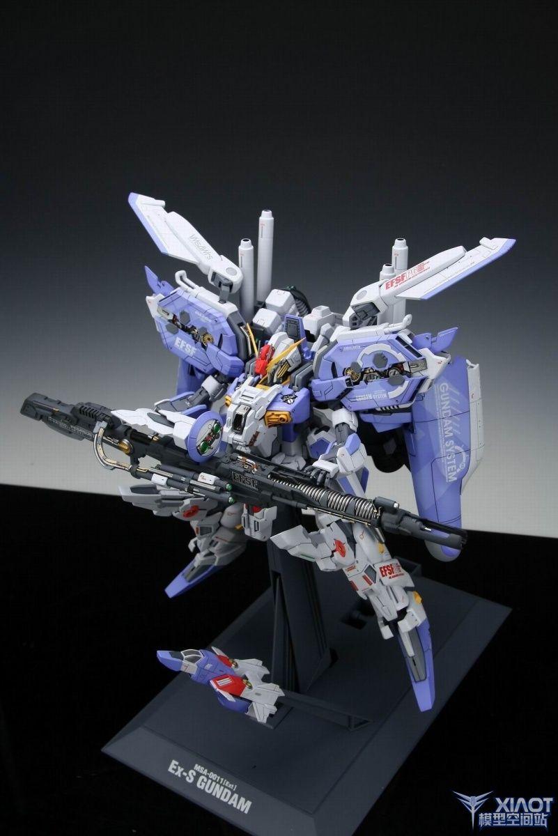 1 100 Msa 0011 Ext Ex S Gundam Painted Build A New Photoreview W Wallpaper Size Images Gundam Custom Gundam Gundam Model