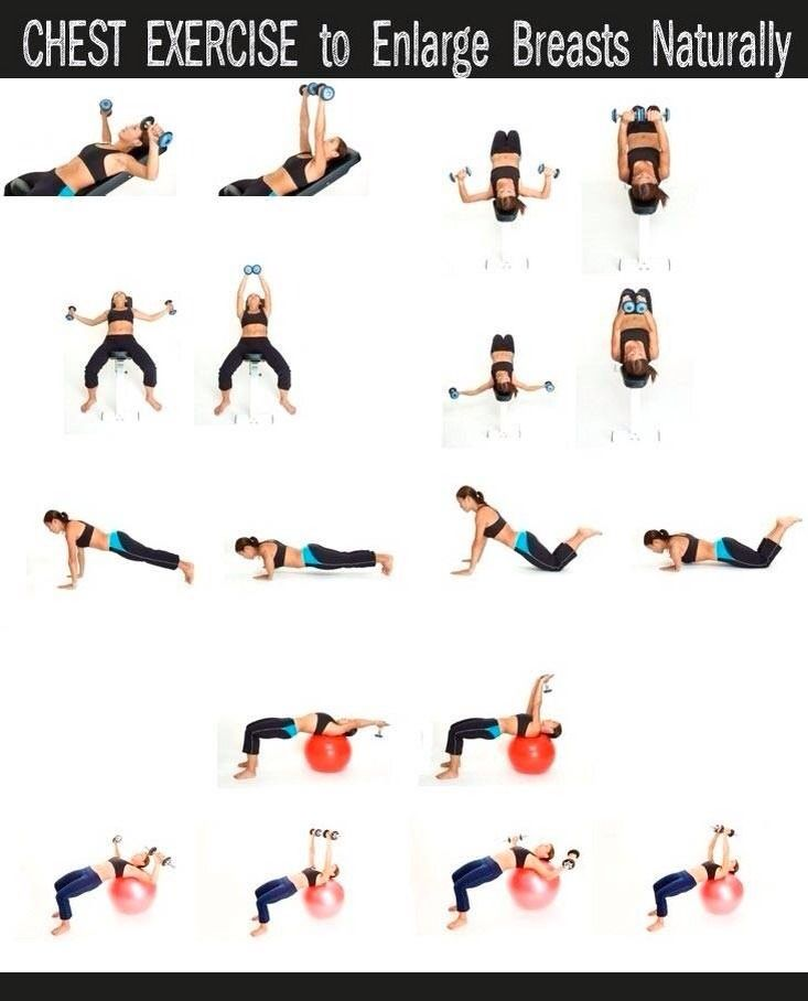 Chest Exercise To Enlarge Breasst Naturally Fitness