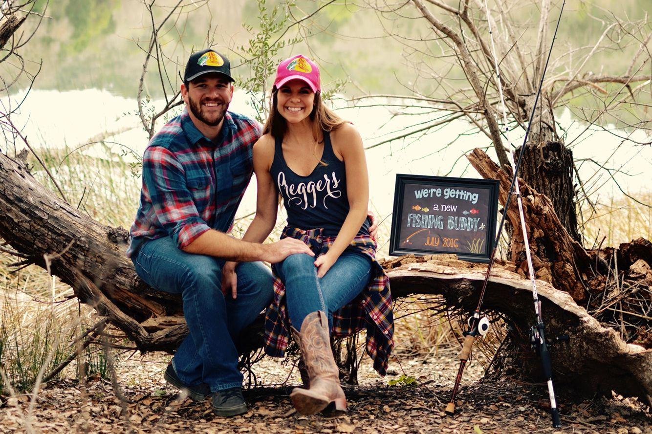 Maternity photo shoot prop Printable Pregnancy Announcement New Fishing Buddy Fishing Pregnancy Announcement Sign Fishing New Baby