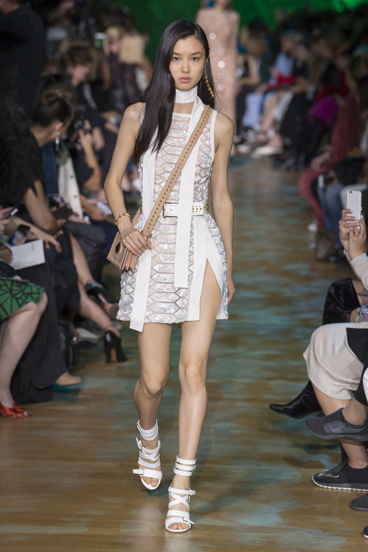 High fashion dresses runway 2018 spring