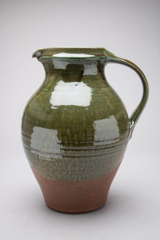 Large jug decorated using jeff oestreichs sun bright