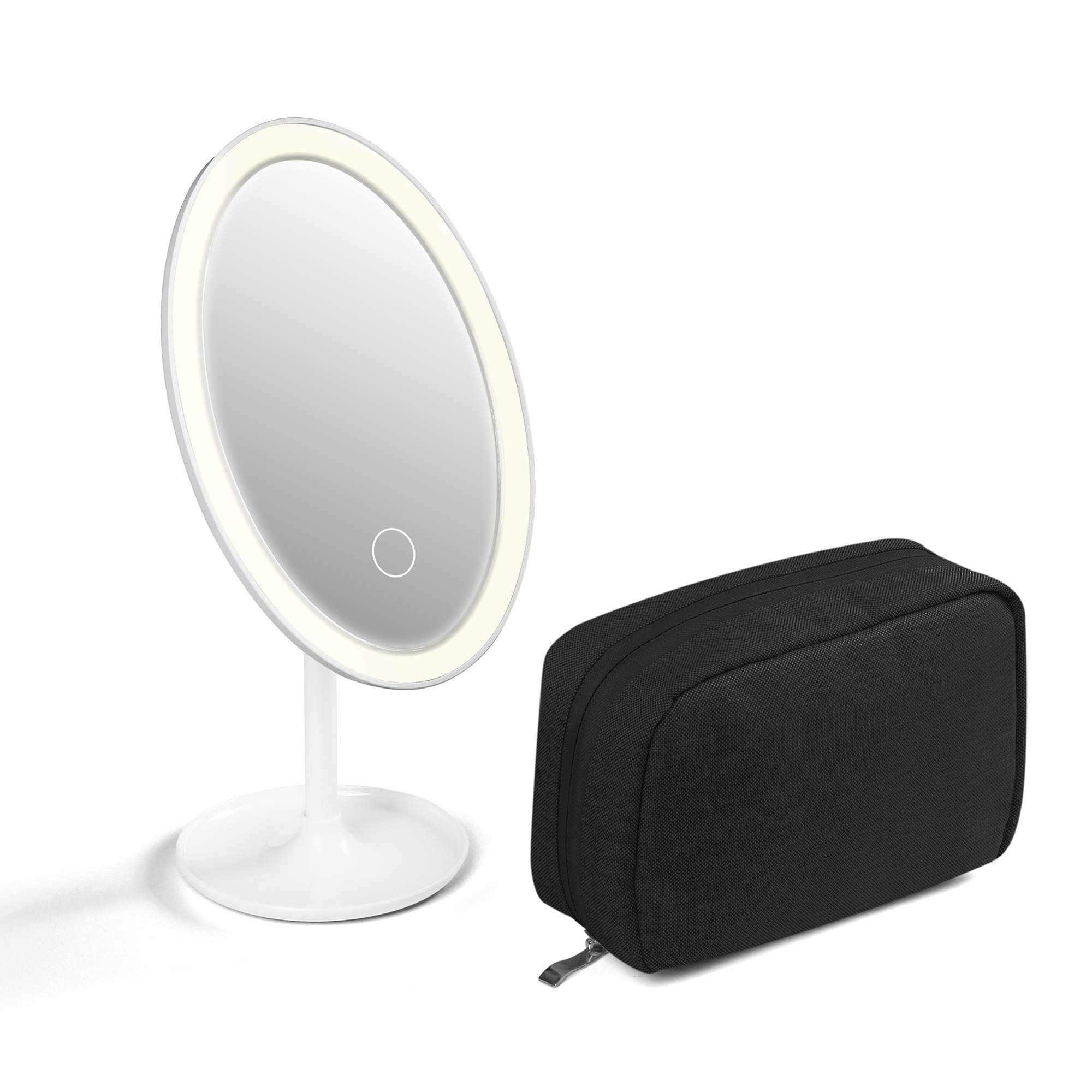 GMYLE Makeup Kit Set Rechargeable Lighted Vanity Makeup