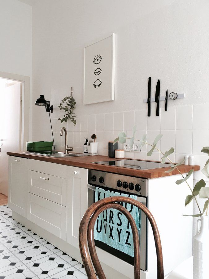Eukalyptisch Kitchens, Interiors and Apartments - schöne mülleimer für die küche