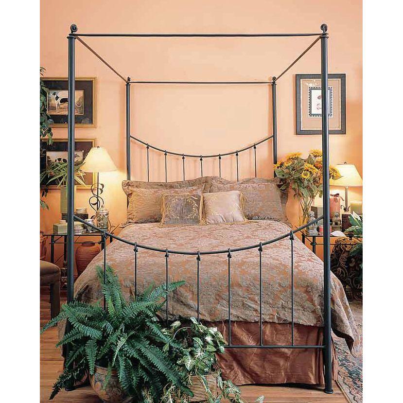 Bosun Wrought Iron Canopy Bed BEDROOM IDEAS 214