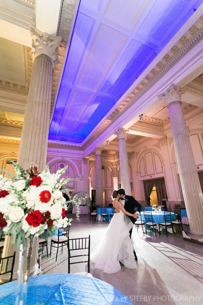Bride And Groom Dance At The Treasury On Plaza St Augustine Florida Wedding Venueswedding Reception