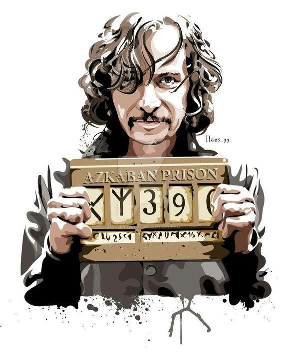 Fan Art Harry Potter – Sirius Black