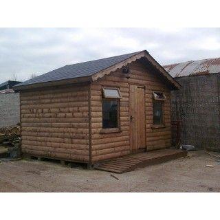 10ft x 12ft Log Cabin
