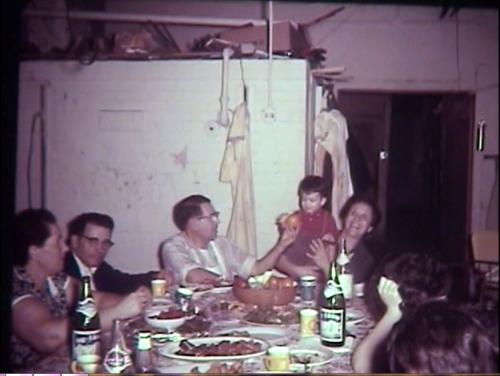 Vintage Italian Family Dinner