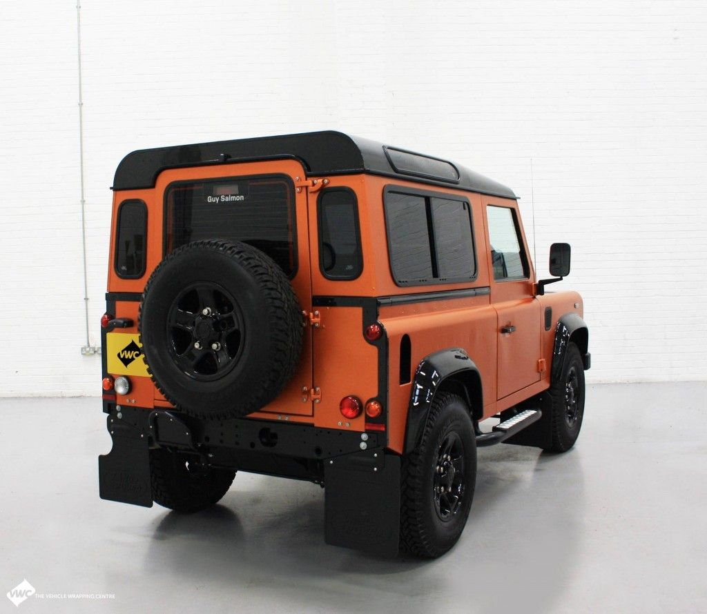 Land Rover Defender Personal Vehicle Wrap Project More