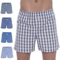 Photo of D.E.A.L International 5-Set Boxer Shorts Blue Checkered Deal