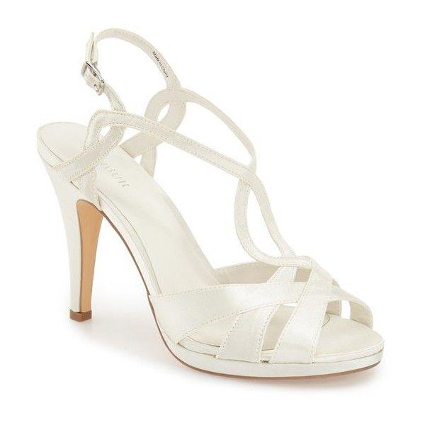 Menbur AMPARO - High heeled sandals - ivory Kh0BCC