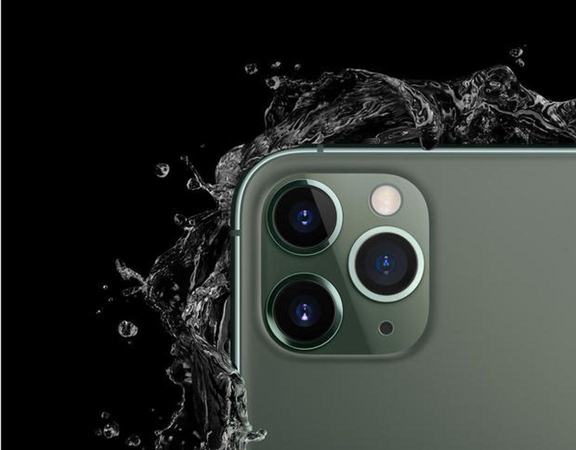 Midnight Green True Black Iphone 11 Pro Max Wallpaper In 2020 Iphone Iphone 11 Iphone 9