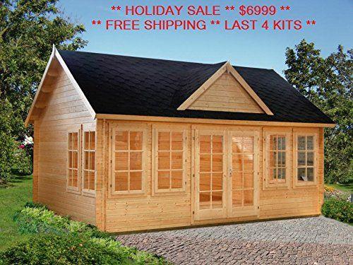 Cheap Cabin Kits Starting At $3860 | cheap cabin ideas