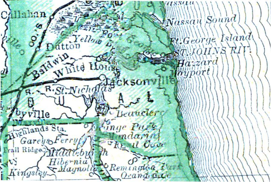 Duval County, FL 1880