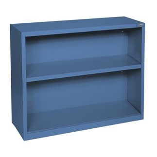 30H 2 Shelf Steel Bookcase - 32039 and more Lifetime Guarantee