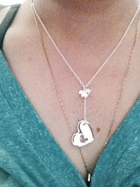 Mickey's necklace