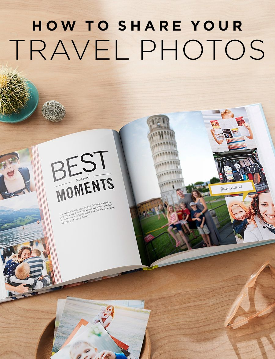 Capture all your travel photos in a personalized photo book of your vacation. From monuments to your favorite roadtrip, remember it all. | Shutterfly #vacationlooks