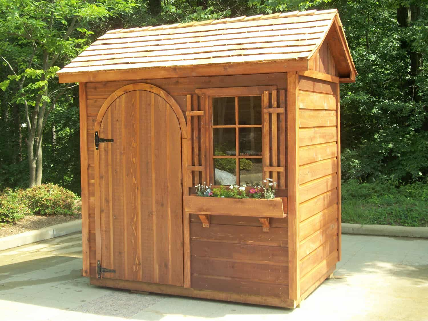 20 Cool Initiatives Of How To Makeover Small Backyard Shed Ideas Simphome Backyard Sheds Backyard Shed Outdoor Sheds Backyard garden shed ideas