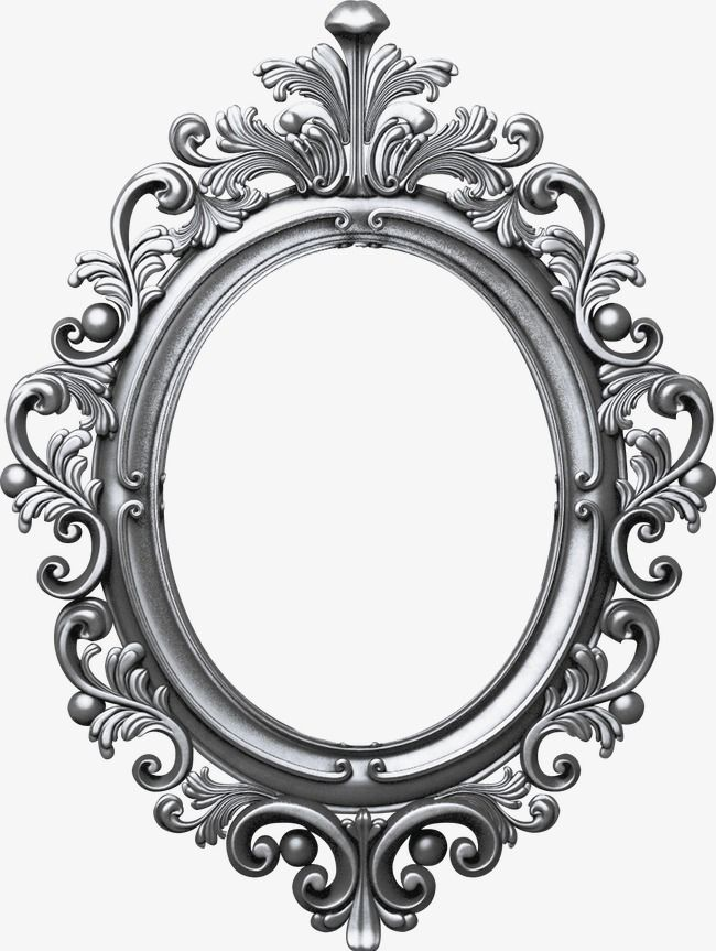 Oval Frame Frame Clipart Iron Frame Png Image And