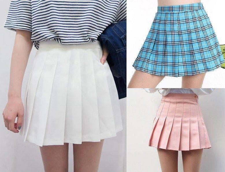 Patrón Falda de colegiala | Faldas - Costura DIY | Pinterest