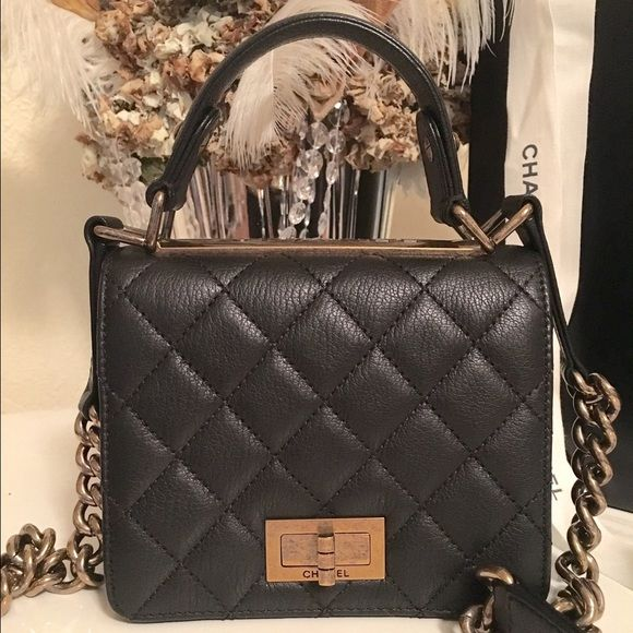 79bd8d1b2f6b CHANEL Rita Top Handle Mini Crissbody Handbag Brand: Chanel Style: Rita  Type: Crossbody