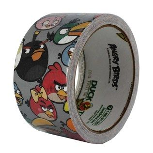Angry Birds Duck Tape