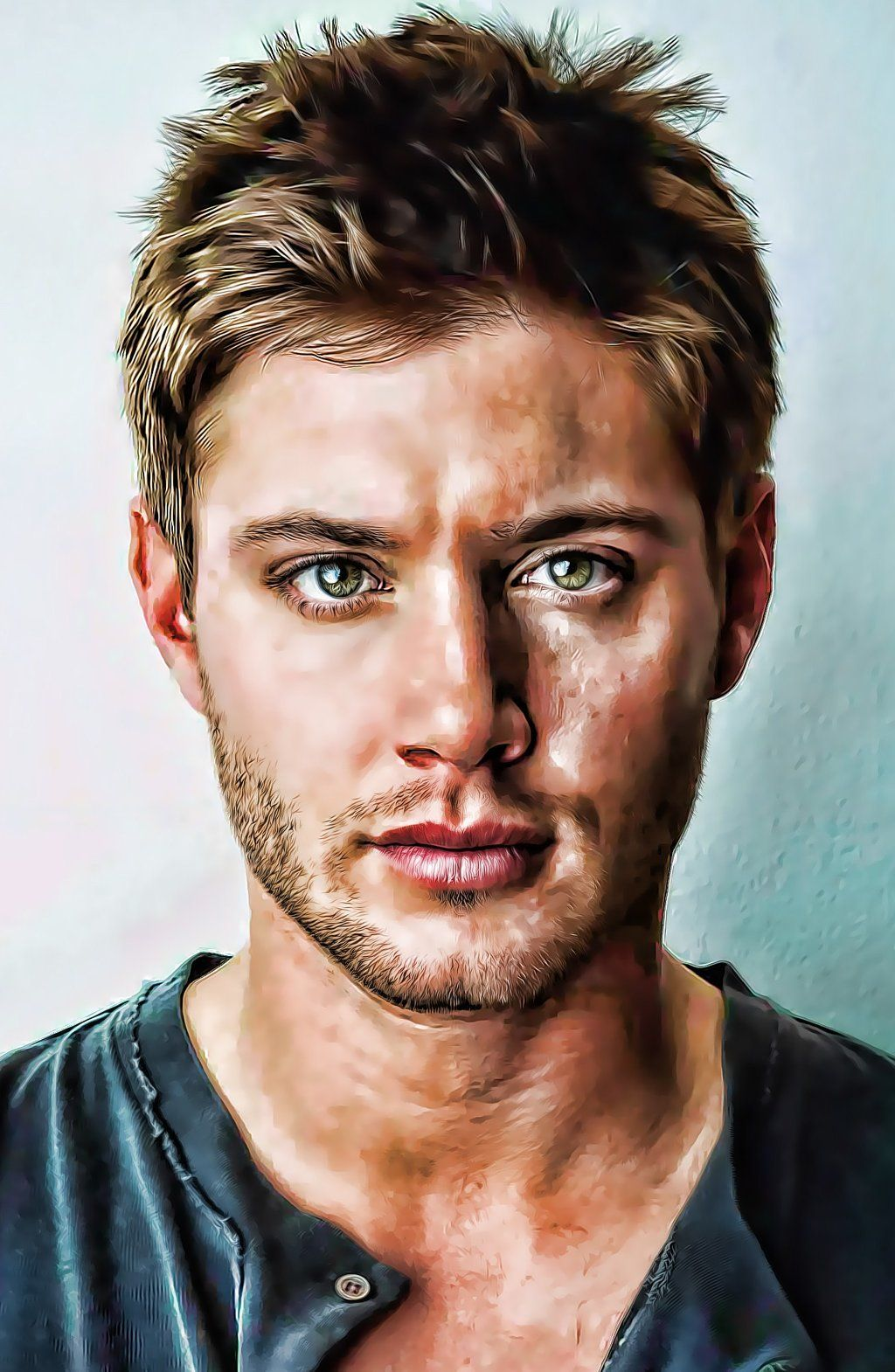 Jensen Ackles by *anish-11k on deviantART {digital art ...