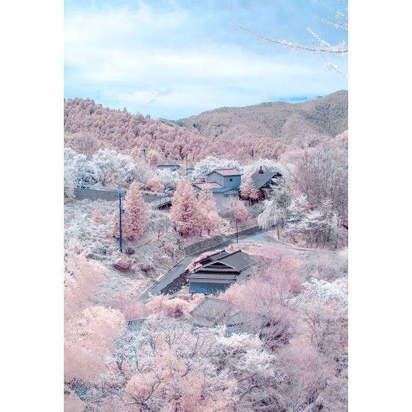 Yoshino, Nara,Japan liked on Polyvore featuring ...