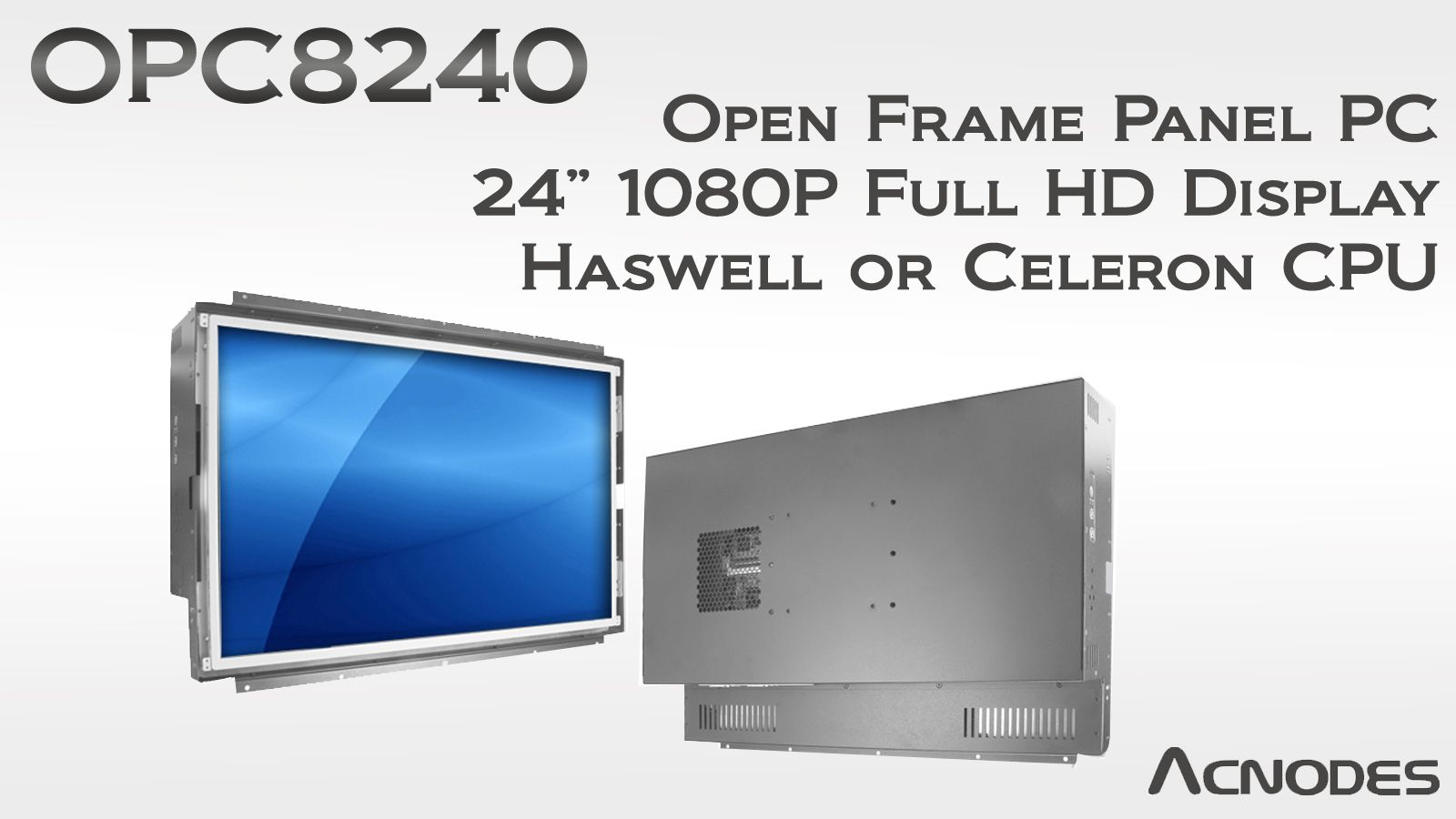Open Frame Panel Pc Features Haswell Or Celeron Embedded Pc Open Frame Paneling Frame