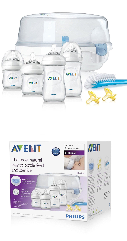 Natural Essentials Baby Bottle Gift Set Bottle Sterilizers 106789