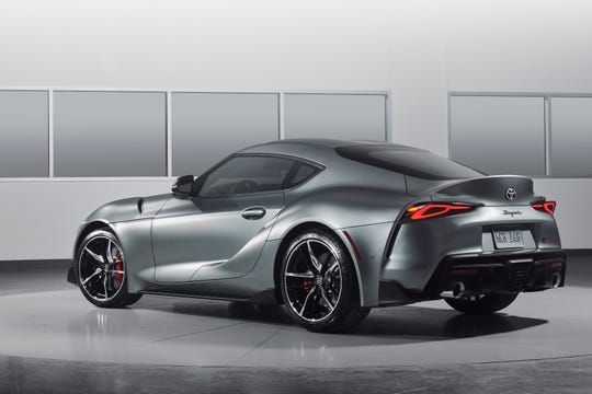 2020 Toyota Supra Gray – Car Wallpaper 4k