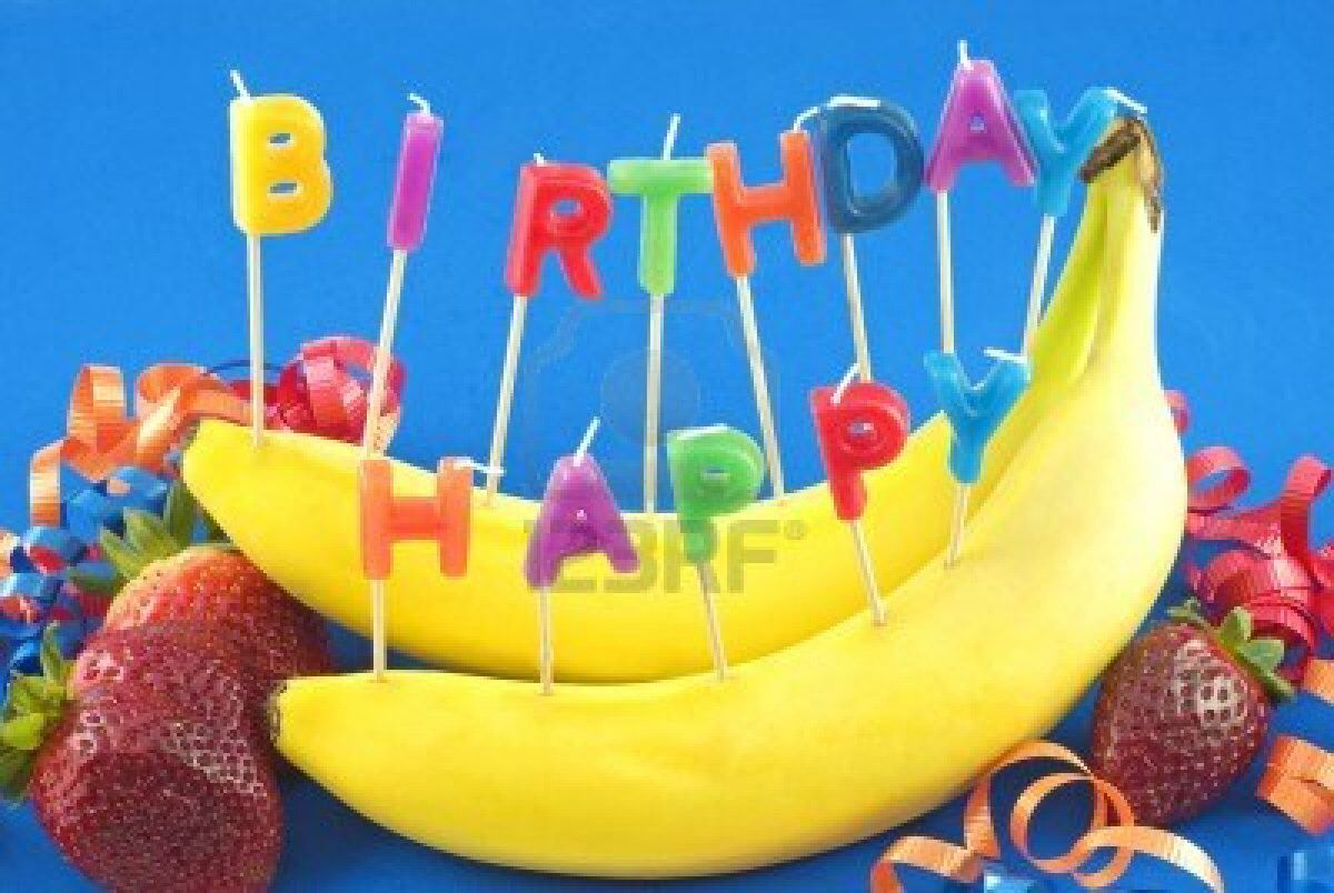 banana birthday